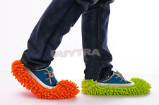 1x Dust Floor Cleaning Slippers Shoes Mop House Clean Shoe Cover Multifunction g
