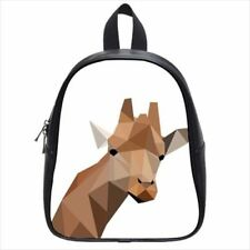 Abstract Giraffe Leather Kid's School Bag / Children's Backpack