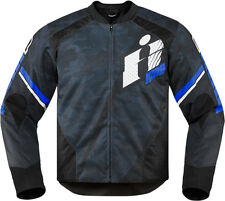 Icon Overlord Primary Textile Jacket Blue