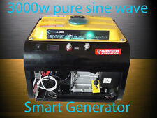 3000W Pure Sine Wave Smart Generator 12V,24V,48V DC Output For Power Inverter AC