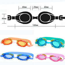 1PCS Baby Kids Adjustable Frog Cartoon Goggles Anti-fog Summer Swimming Glasses