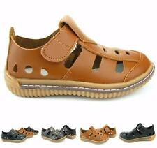 Kid's Boy's Roamer Fisherman Sandals Synthetic Leather Closed Toe Shoes