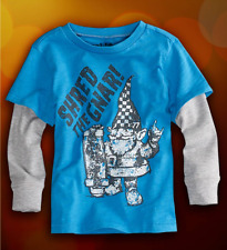 NWT 77kids by American Eagle Boys Size 4 4T or 5 5T Long Sleeve Skate Tee Shirt