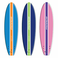 Mirage Tahiti Soft Foamie Surfboard Surf Board 7'10""