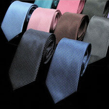 7cm New Men Neck Tie 100% Silk Jacquard Woven Classic Business Party Neckties