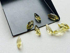 Natural Lemon Quartz Marquise Cut Calibrated Size 3.5x7mm- 8x16mm Loose Gemstone