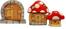 Hand made, Hand painted, Peakdale Sculptures Fairy Doors, large selection