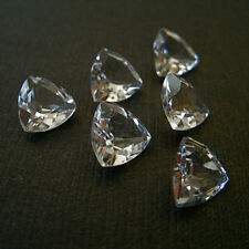 Natural White Topaz Trilliuon Cut 4mm - 8mm Calibrated Size Loose Gemstone
