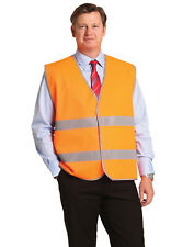 AIW SW44; High Visibility Safety Vest 100% Polyester w 3M Tapes