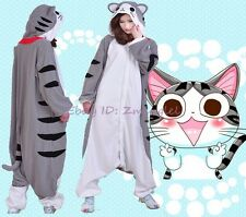 Chi's Cat Adult Fleece Onesies Kigurumi Animal Pajamas Cosplay Sleepwear Dress