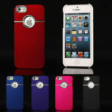 Luxury Slim Rigid Plastic Hard Back Case Protective Phone Cover For iPhone 5 5s