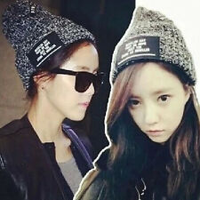 Fashion Winter Women Men Warm Hat Cap Knit Crochet Hats Beret Ski Beanie Unisex