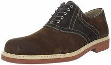 Hush Puppies Men's Authentic Oxford, Red Brown/Dark Brown, 8 M US MSRP $105 New