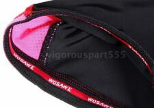 Women 3D Silica Gel Padded Bicycle Running Shorts Cycling Pants Spandex O5C4