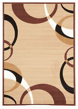 Network Rugs NEW Viva Modern Beige / Brown Contemporary Rug