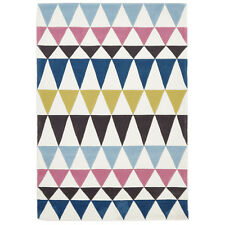 Network Rugs NEW Bunting Design Multi Coloured Rug