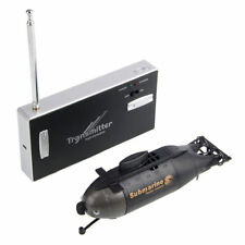 Mini RC Racing Submarine Boat RC Toys Gift With 49MHz Radio Control Transmitter