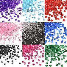 5000 Diamond Confetti Plastic Wedding Party Table Scatter Decor 4.5mm 1/3 Carat