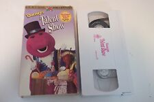 BARNEY'S Talent Show VHS Sing-Along Tape-Classic Collection-GUARANTEED-FREE SHIP