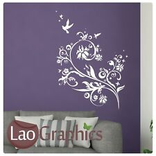 Humming Bird Wall Sticker Decal Art Transfer Graphic Stencil Vinyl Decor Big FL8