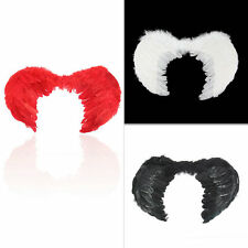 Feather Fairy Angel Wings Party Halloween Fancy Dress Costume Accessory SL