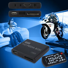 Mini Full 1080p HD Media Player Box MPEG/MKV/H.264 HDMI AV USB + Remote SL