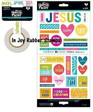 "Bella Blvd Illustrated Faith BASICS 5x7"" Select Stickers OR Washi Tape BIBLE"