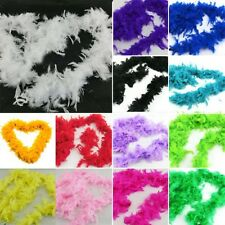 Fancy Fluffy Feather Scarf Dress up Night Party Wedding Club Costume Decor 1PC