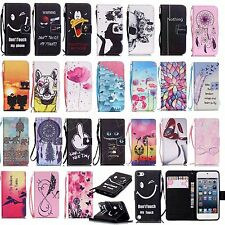 Magnetic PU Leather Wallet Stand Cover For iPhone 5S/6S/SE Phone Protective Case