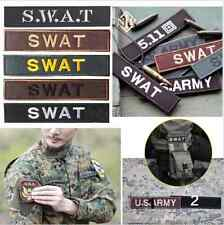 USA Army Military Militia Tactical Badge SWAT Embroidere Patch Armband Patch Hot