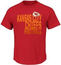 Kansas City Chiefs NFL Licensed Coin Toss Mens Red Shirt Big Sizes