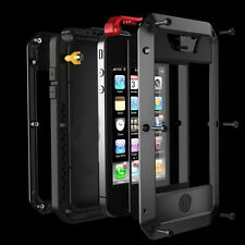 Hot Aluminum Metal Gorilla Glass Cover Case for iPhone 5S 5G Water/Shockproof