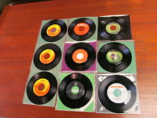 BEATLES 45'S (9 RECORDS) LOT # 90  ( 90, 102,104, 106, 107, 110, 112, 115, 123)