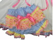 Adult Baby Sissy Dress Up Candy Land Diaper Cover ~ With or W/out PUL Lining