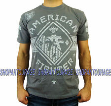 American Fighter Manchester FM1737 Men`s New Charcoal T-shirt By Affliction