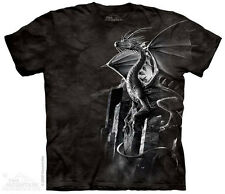 Silver Dragon T-Shirt from The Mountain - Sizes S through 5X