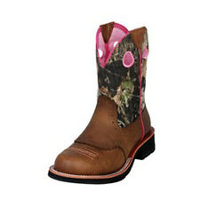 10006854 Ariat Cowgirl Fatbaby Boots Distressed Brown/Mossy Oak NEW