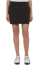 J.LINDEBERG  WOMEN'S BLACK RIANA GOLF SKORT 36WG220460508 SIZE LARGE