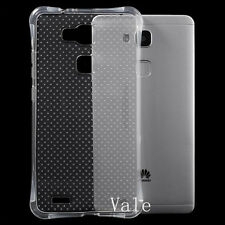 New Flexible Slim Shockproof Soft TPU Clear Crystal Case Cover For Mobile Phone