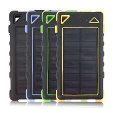 20 LED 8000mAh Dual USB Solar Power Bank Backup External Battery Charger QT