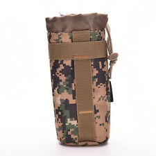 Outdoor Tactical Military Molle Water Bottle Bag Kettle Pouch Holder Carrier ST