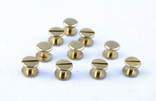 Leather DIY Round Flat Spikes Metal Studs Rivets Screwback Spots Cone TO242