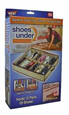 Shoes Under Space-Saving Shoe Organizer New As Seen on TV