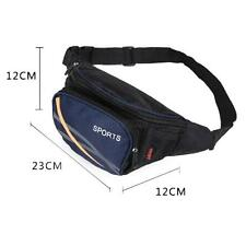 Women Men Running Bum Bag Travel Handy Hiking Sport Fanny Pack Waist Belt Pouch