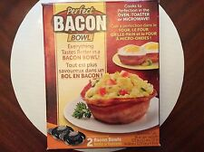 PERFECT BACON/BREAD BOWL AS SEEN ON TV U GET 2 BOWLS BRAND NEW/FACTORY SEALED!!!