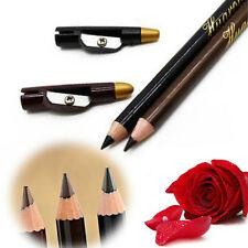 2pcs Lady Waterproof Eyebrow Eye Liner Pencil Pen Eyeliner Makeup Tools