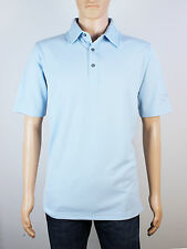 NEW Firethorn Golf Size S M L mens light blue short sleeve polo shirt
