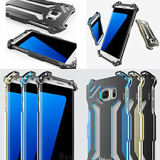 For Samsung Galaxy S7/S7 Edge Transformers Metal Aluminum Iron Man Case Cover