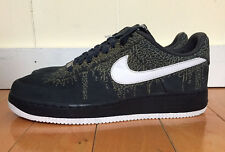 NIKE AIR FORCE 1 LOW SUPREME ELEPHANT OBSIDIAN NAVY LASER SZ 11-12  318776-411