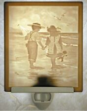 Children - Summer Friends Lithophane Night Light